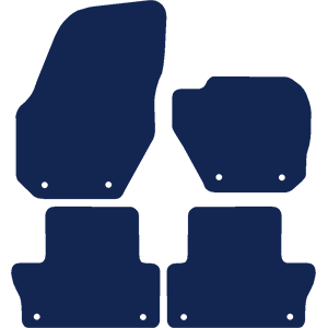 Volvo XC60 2008-2017 Car Mats