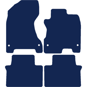 Renault Koleos 2008-2016 Car Mats