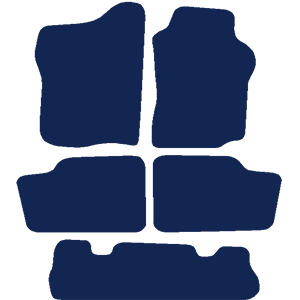 Nissan Patrol 1998-2007 Car Mats